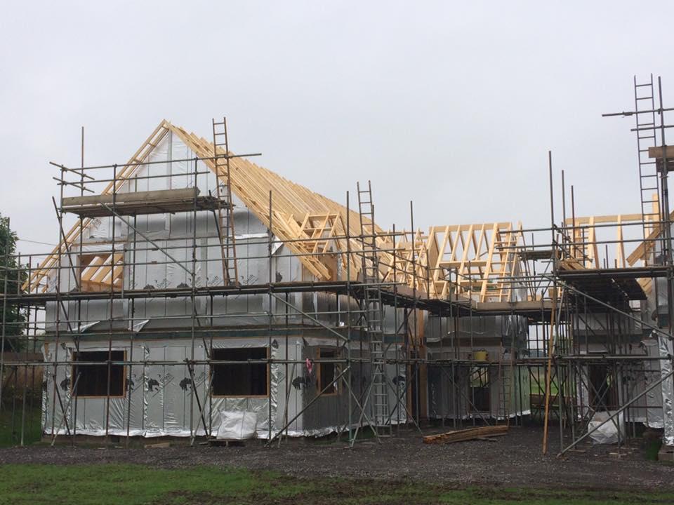 new build work in progress