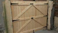 softwood garden gates